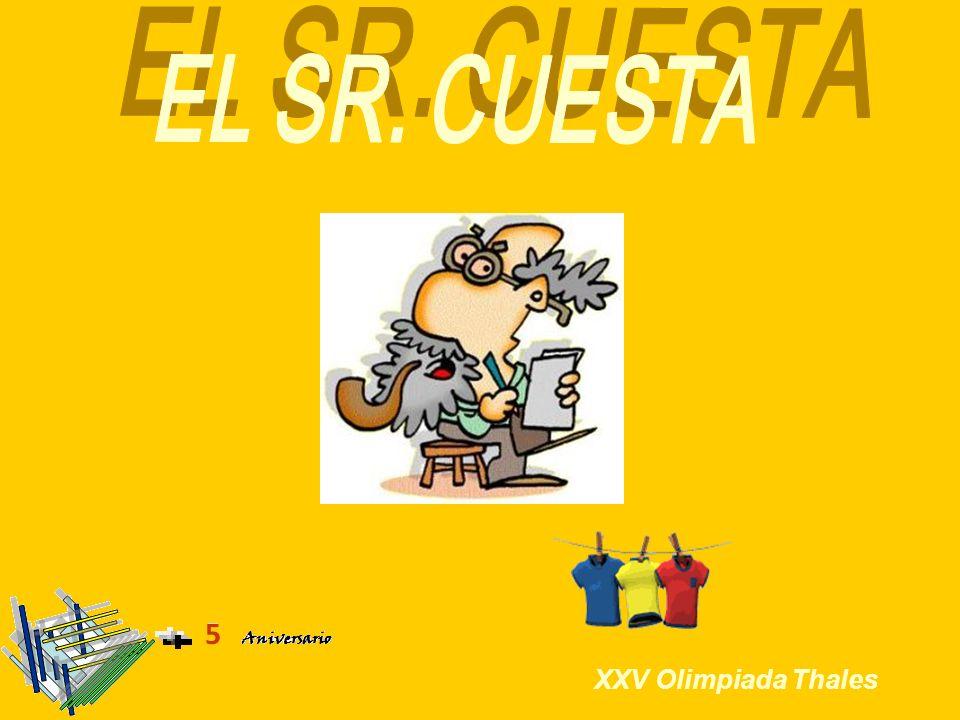 El Sr.Cuesta: Solución Menú Dos de las habitaciones de la casa del Sr.