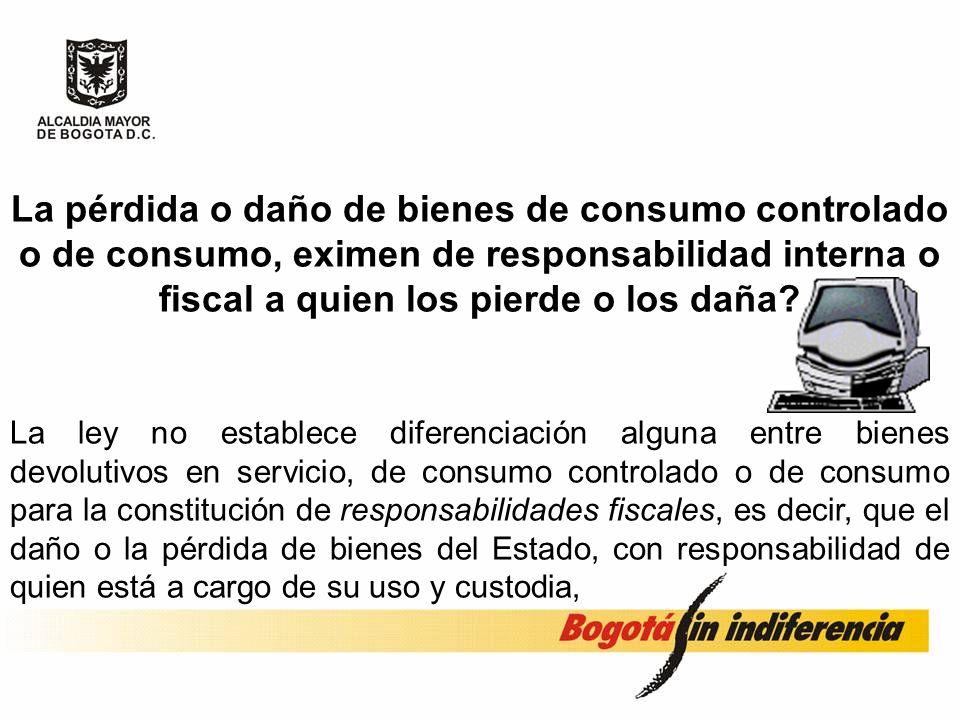 .. Para llevar el control de estos bienes, es necesario crear mecanismos de control administrativo diferentes al de la contabilidad patrimonial, media