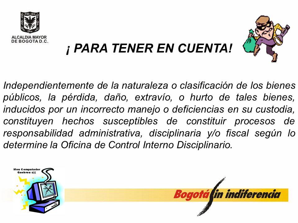 sea cual fuere la clasificación del bien, es sujeto potencial de las acciones de la autoridad fiscal para la determinación de culpabilidad y/o restitu