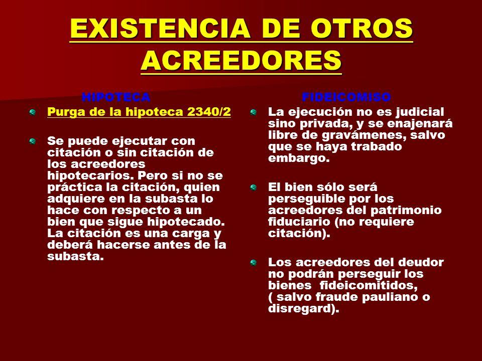 PRINCIPIO DE ESPECIALIDAD HIPOTECA Por tanto no es posible la hipoteca abierta o autónoma, la hipoteca para todas las operaciones (deudas futuras) que