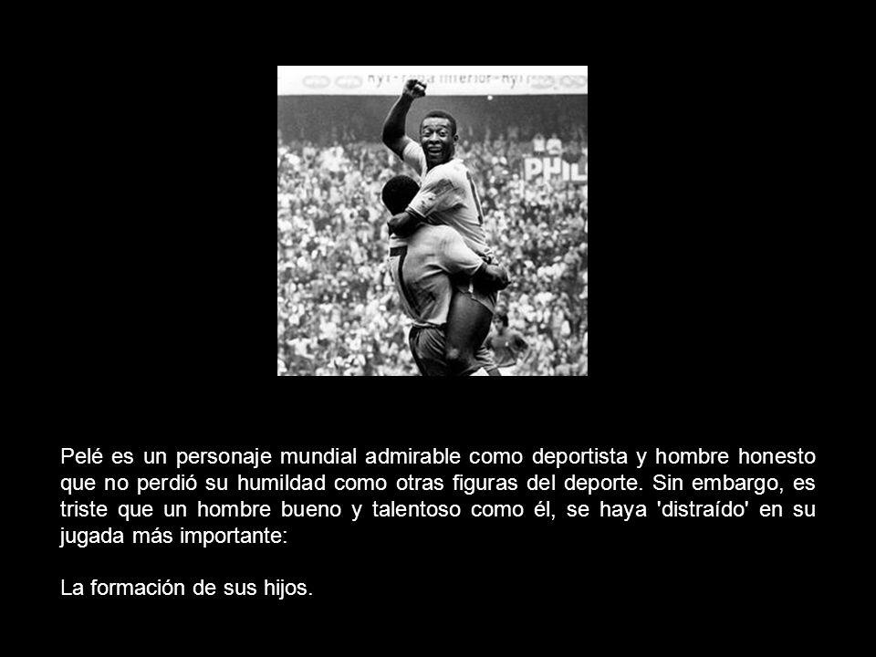 El hijo de Pelé fue acusado de asociación delictiva con narcotraficantes y puede ser condenado a 15 años de cárcel. Con lágrimas en los ojos, el ex fu