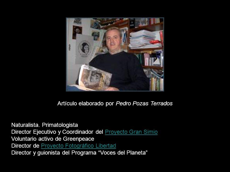 Artículo elaborado por Pedro Pozas Terrados Naturalista.