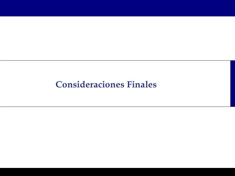 Programas Ejecutivos - Graduate School of Business Consideraciones Finales