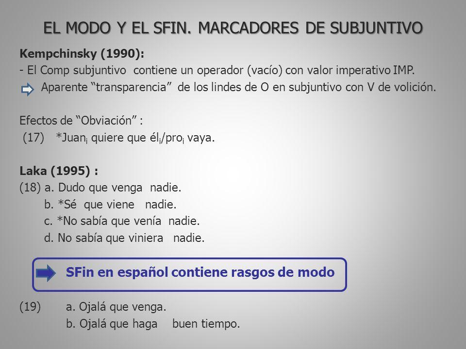 EL MODO Y EL SFIN.