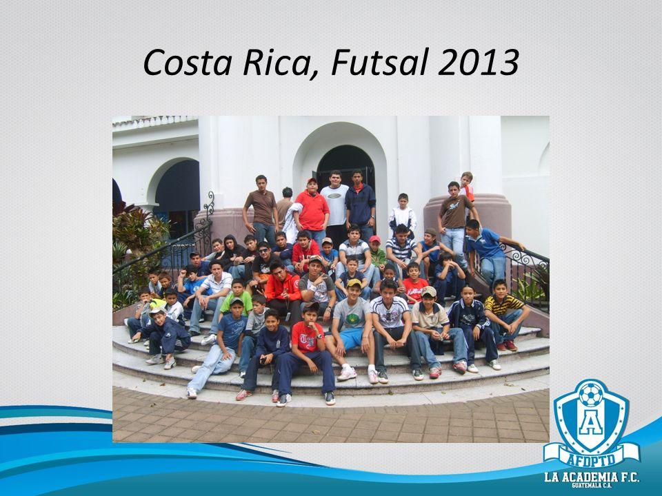 Costa Rica, Futsal 2013