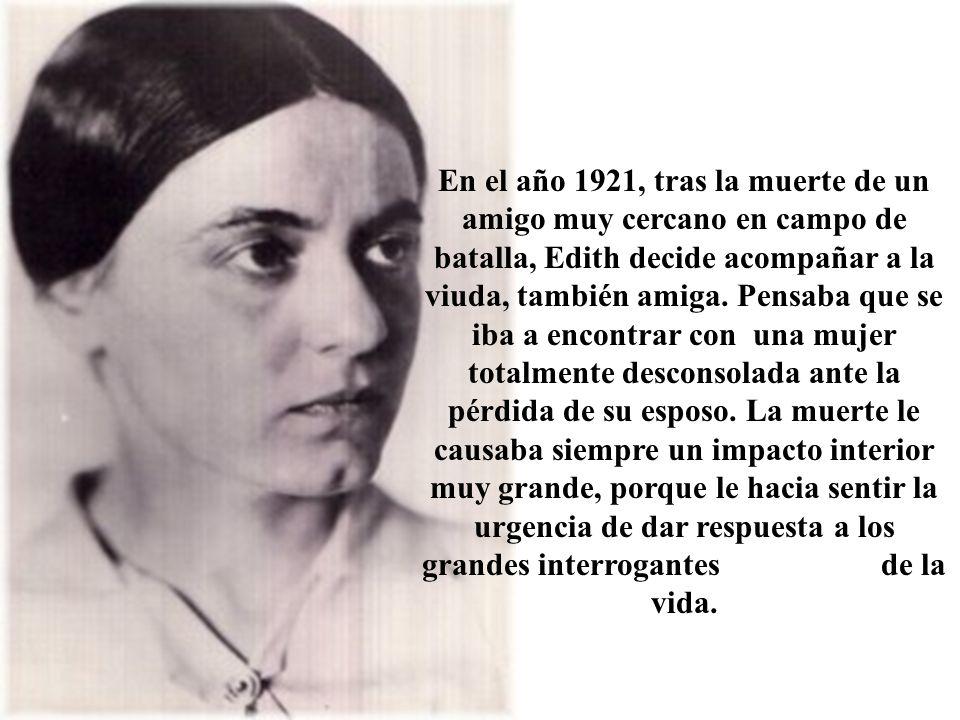 El 15 de abril de 1934, domingo del Buen Pastor, Edith Stein tomaba el hábito de carmelita e inicaba el noviciado.