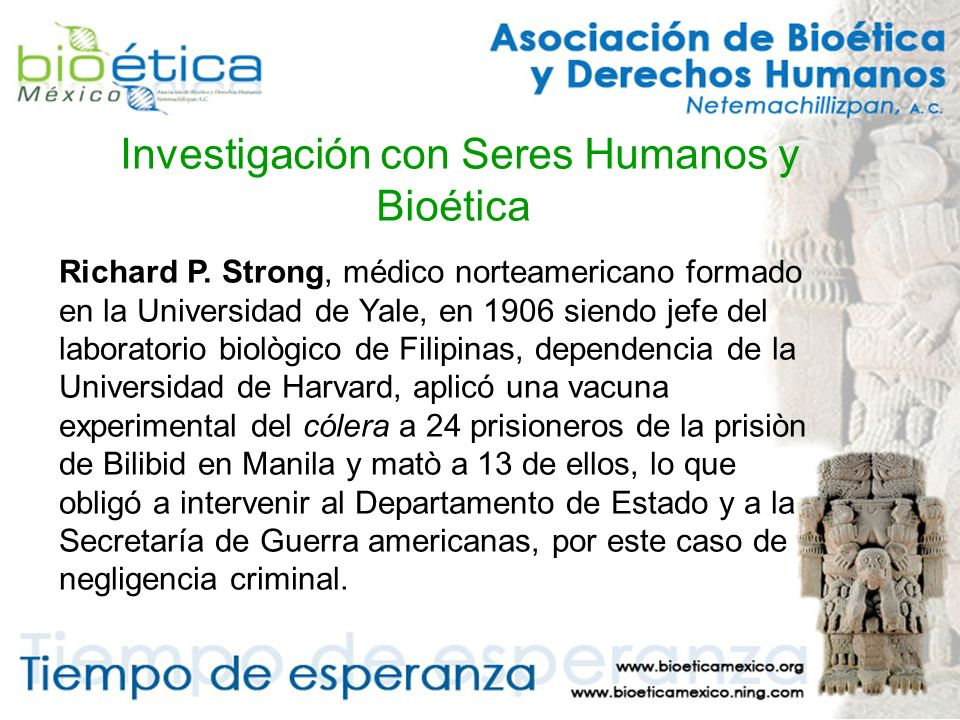 Investigación con Seres Humanos y Bioética Richard P.