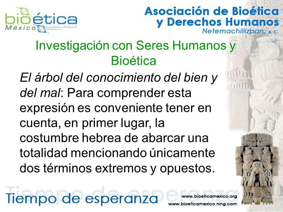 Investigación con Seres Humanos y Bioética Galeno en el siglo II d.C.