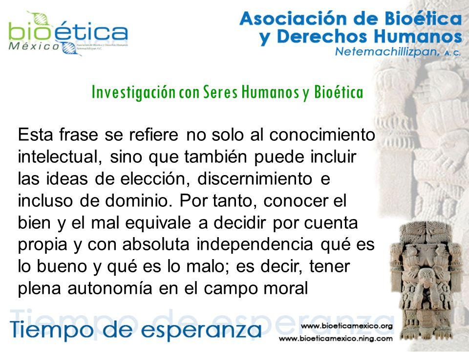 Investigación con Seres Humanos y Bioética Entre 1895 y 1896 el Dr.