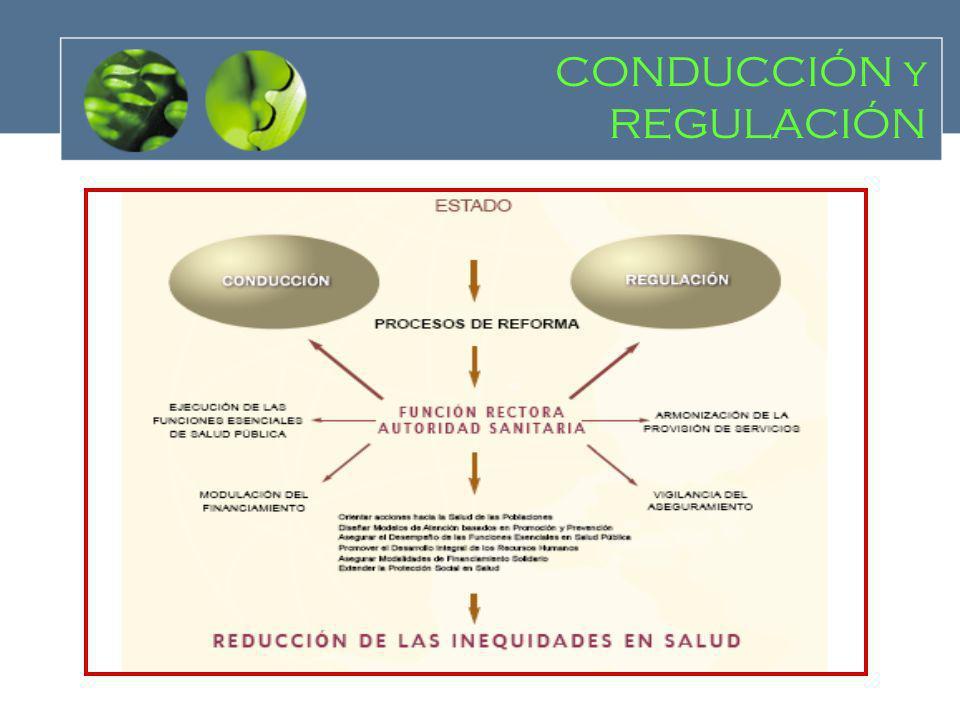 CONDUCCIÓN y REGULACIÓN