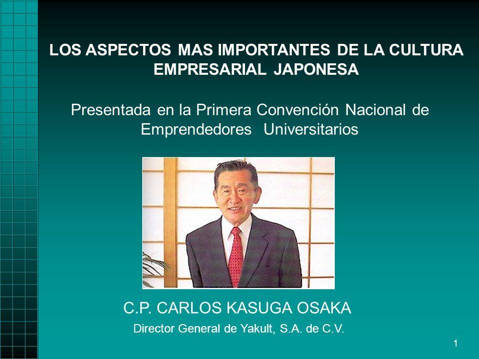 1 LOS ASPECTOS MAS IMPORTANTES DE LA CULTURA EMPRESARIAL JAPONESA C.P.