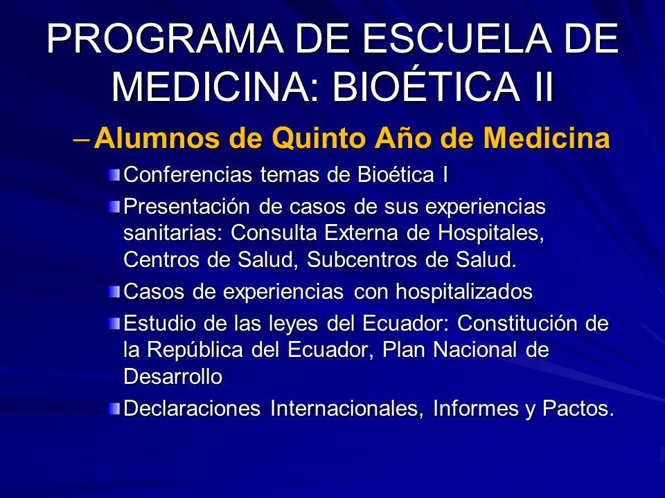 PRINCIPIOS DE BIOÉTICA EL OBJETO MORAL DEBE SER REALISTA.