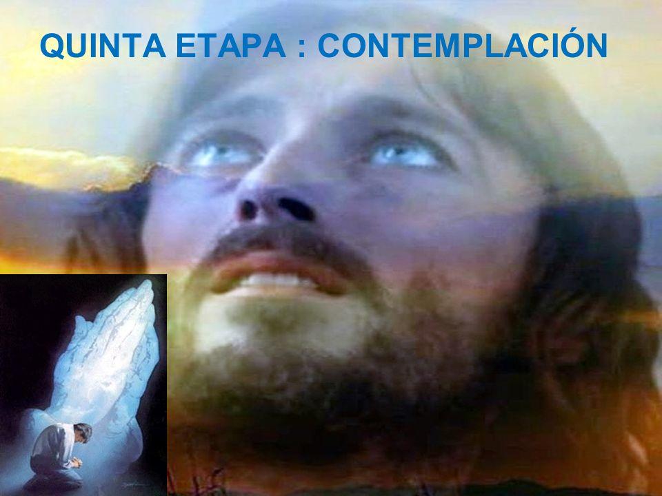 CUARTA ETAPA : ORACIÓN Cree... Cree... Ah, Señor, ayúdame a creer.