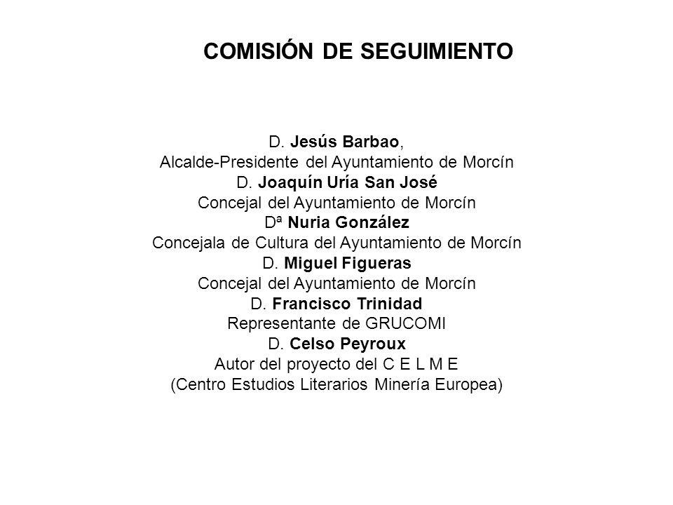 D. Jesús Barbao, Alcalde-Presidente del Ayuntamiento de Morcín D. Joaquín Uría San José Concejal del Ayuntamiento de Morcín Dª Nuria González Concejal