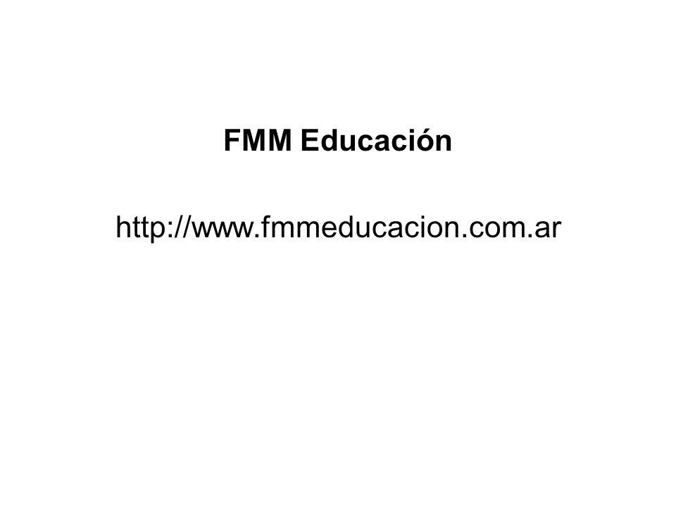 FMM Educación http://www.fmmeducacion.com.ar