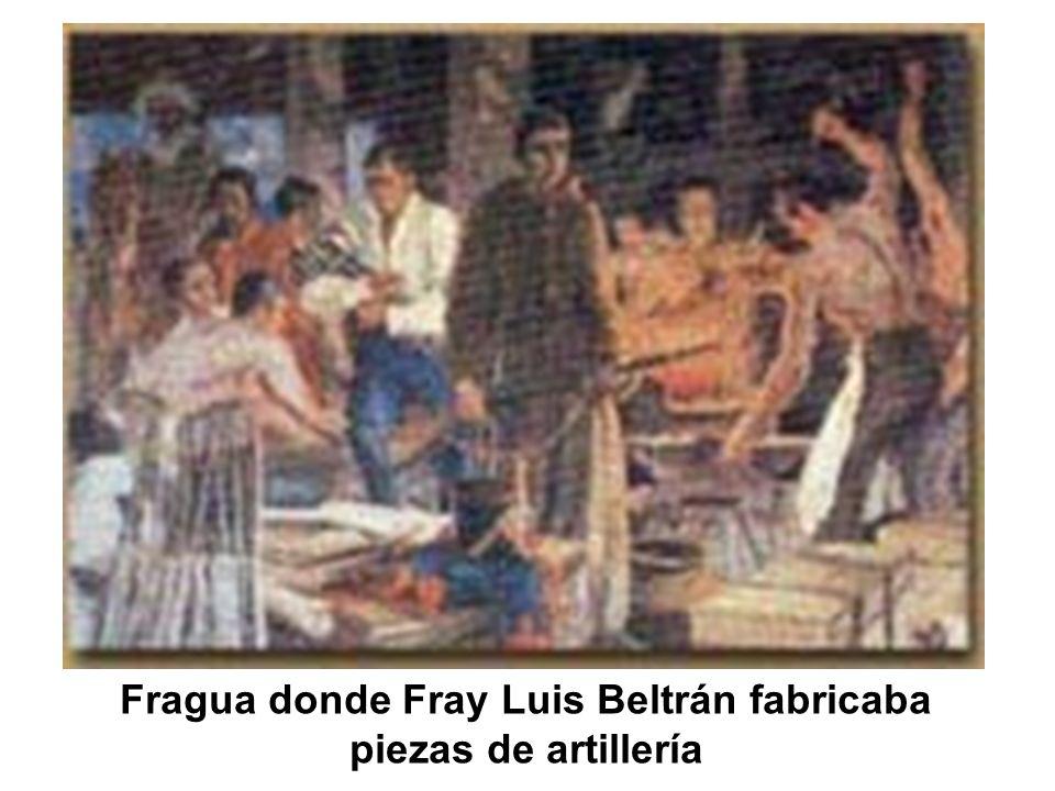 Fragua donde Fray Luis Beltrán fabricaba piezas de artillería