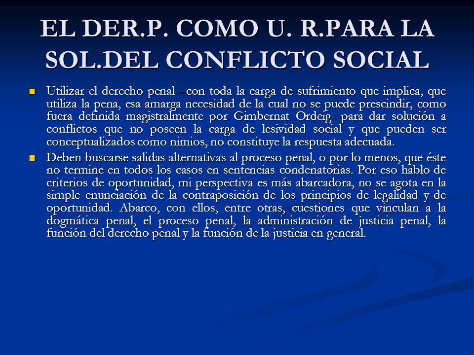 EL DER.P.COMO U.