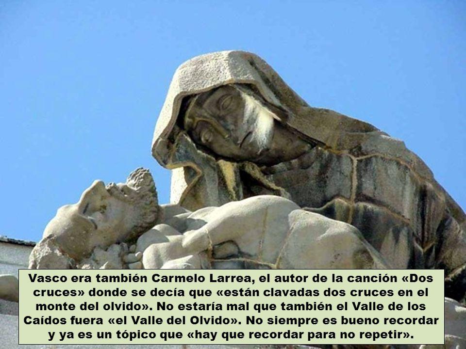 ¿Cuántos restos, además de los de José Antonio y Franco, hay de verdad en el Valle de los Caídos.