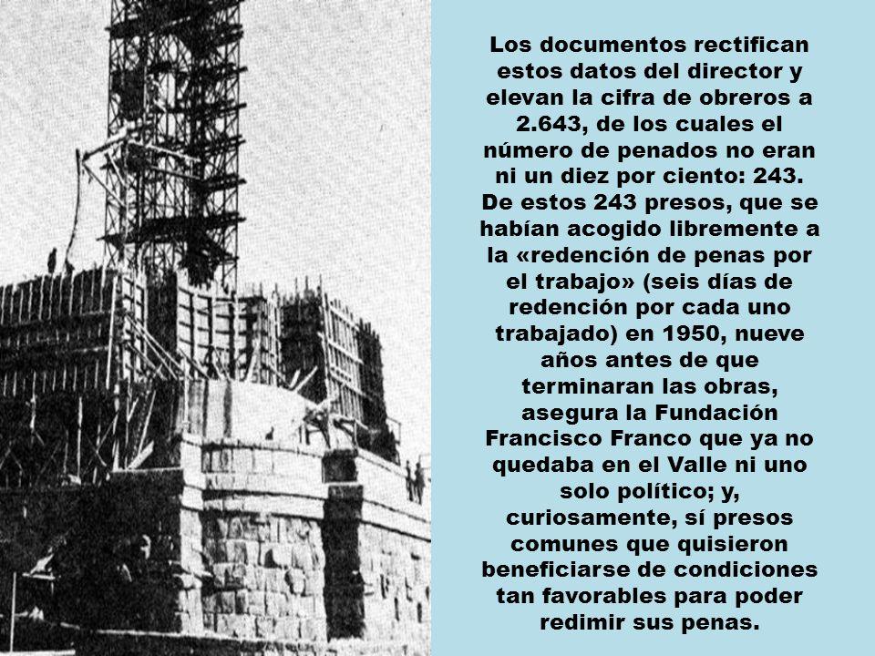 Por ejemplo, el número de presos políticos que trabajaron en las obras.