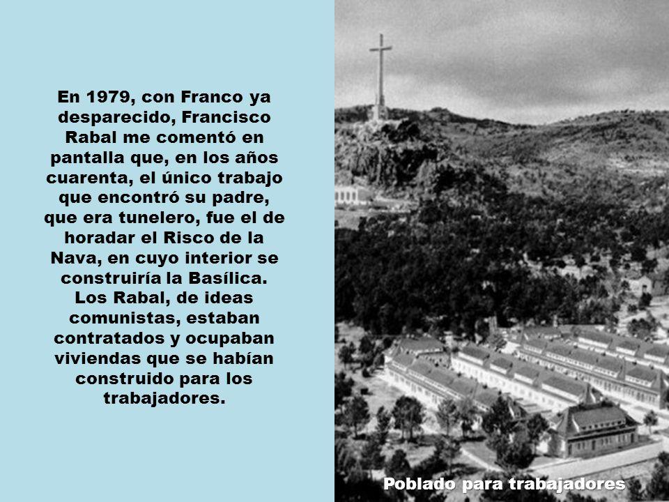 Franco nunca pensó en que le enterraran bajo ese Cristo.
