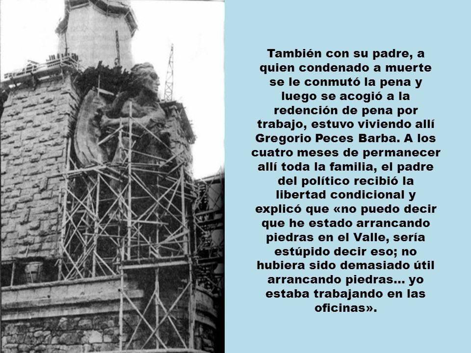 En 1979, con Franco ya desparecido, Francisco Rabal me comentó en pantalla que, en los años cuarenta, el único trabajo que encontró su padre, que era tunelero, fue el de horadar el Risco de la Nava, en cuyo interior se construiría la Basílica.