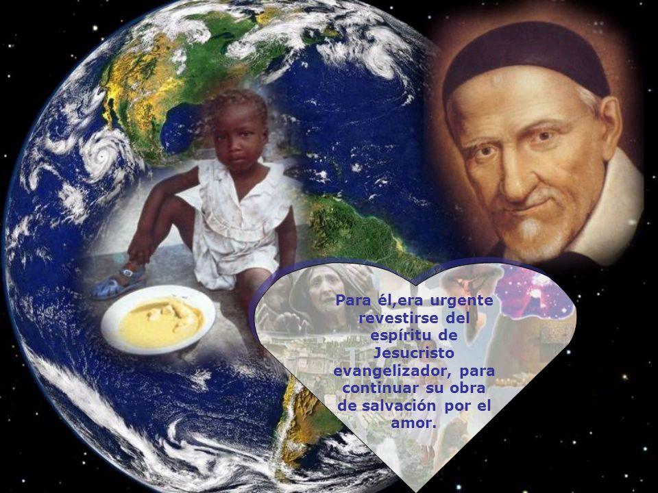 La dependencia del Espíritu Santo se traduce en él en un seguimiento de Jesucristo misionero, cercano, sencillo, humilde, manso, con dominio de sí y l