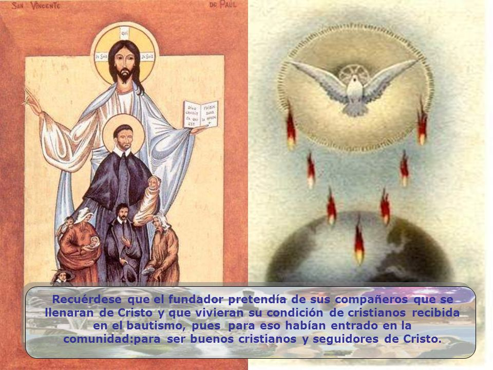 ¡Ser cristiano y ver afligido a un hermano, sin llorar con él ni sentirse enfermo con él! Eso no es tener caridad; es ser cristiano en pintura; es car