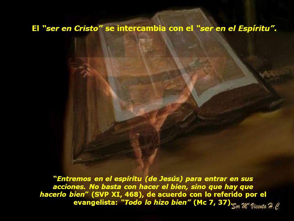 Por consiguiente, no se puede romper en la práctica el lazo de unión entre la docilidad al Espíritu y el seguimiento de Jesucristo, cuya cercanía y bo
