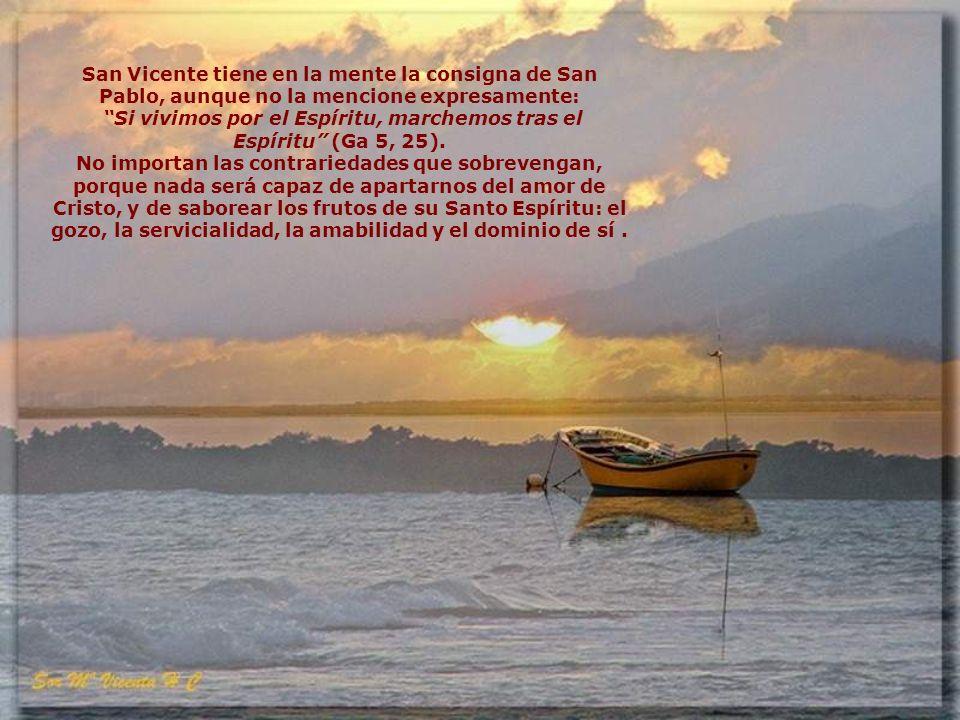 San Vicente trató de poner remedio oportuno a las calamidades que afligían a la Iglesia y a la sociedad de su tiempo, a la vez que prevenía a sus cong