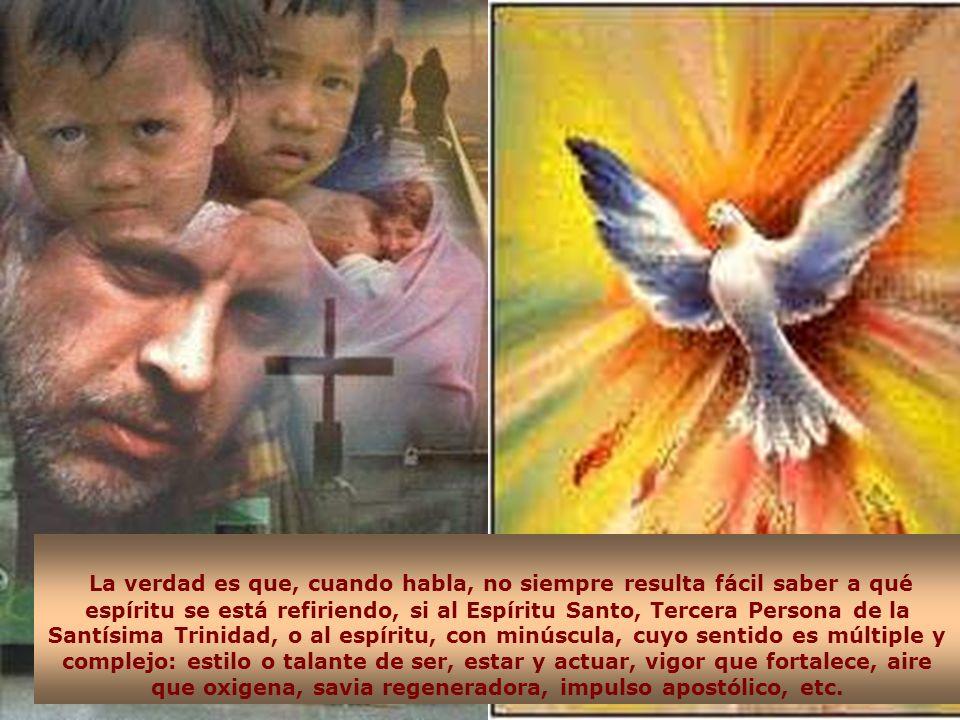 Cuando repasamos la palabra y la vida de San Vicente de Paúl, impresiona verle cómo lucha por vaciarse de sí mismo y llenarse del Espíritu de Dios y d