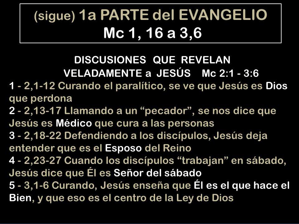 1a PARTE - Afirmaciones cristológicas: - El Padre proclama que es el Hijo (Bautismo) - Los demonios lo confiesan (Santo, Hijo) - La gente se lo pregunta (1,27; 2,7; 4,41; 8,18; 8,21) EN EL CENTRO: Pedro le reconoce MESÍAS (1er título) 2a PART E- Afirmaciones cristológicas: - El Pare le llama Hijo (Transfiguración) - Jesús dice que será un Mesías crucificado -Jesús confiesa que es el Mesías-Hijo (14,62 pasión) FINAL: En la Cruz, el centurión confiesa HIJO DE DIOS (2do título) TEOLOGIA DE MARCOS Mc hace teología en la misma estructura del libro, po- niendo los títulos de Jesús en lugares importantes