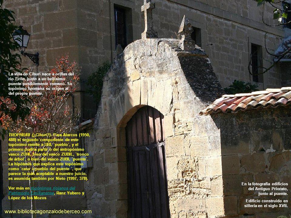Sobre estas líneas los edificios que formaban el Priorato El 4 de agosto del año 947.