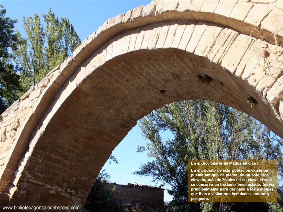 La villa de Cihuri nace a orillas del río Tirón, junto a un bellísimo puente posiblemente romano.