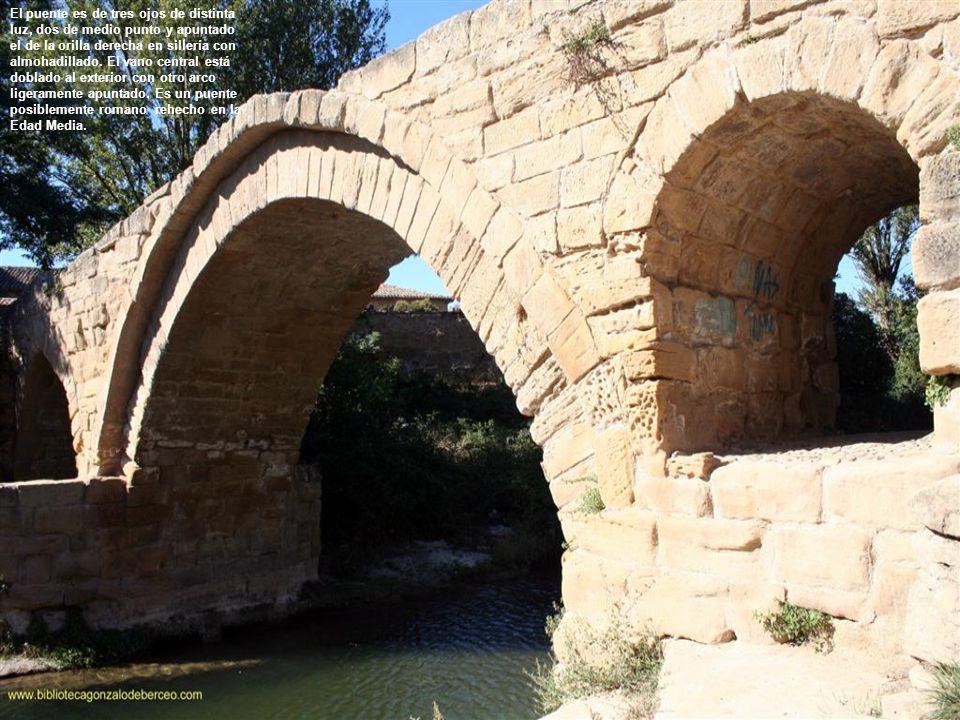 En el Diccionario de Madoz se dice : En el priorato de esta población existe un puente antiguo de piedra, de un solo arco elevado, más de 20 pies en su clave, el cual se conserva en bastante buen estado.