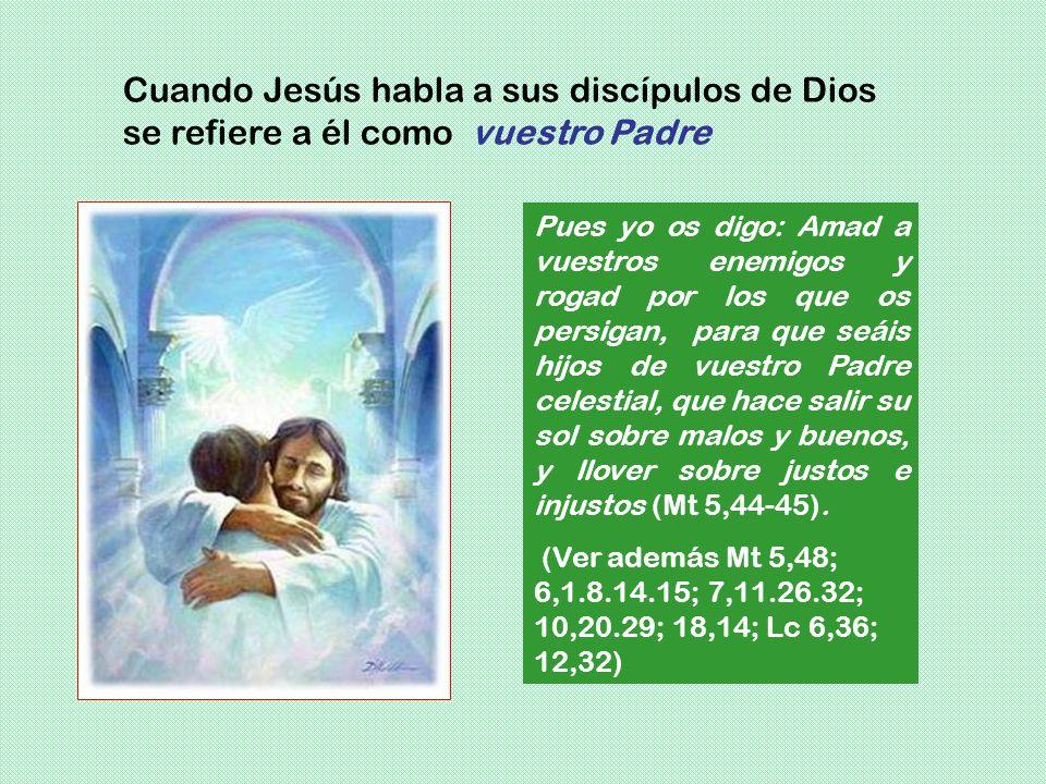 Pues yo os digo: Amad a vuestros enemigos y rogad por los que os persigan, para que seáis hijos de vuestro Padre celestial, que hace salir su sol sobr