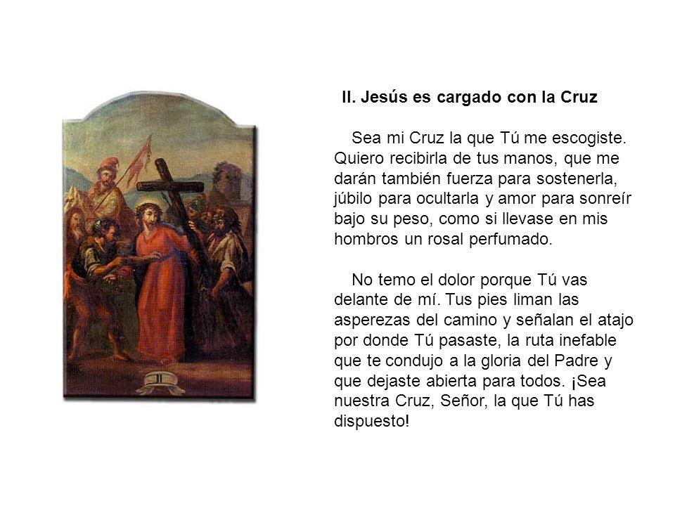 I. Jesús es condenado a muerte No tengo palabras que decirte...