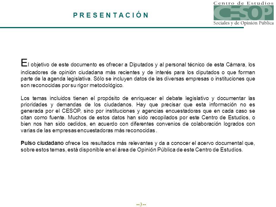 --34-- APROBACIÓN PRESIDENCIAL Y APROBACIÓN DE LOS GOBERNADORES Aprobación al gobernador en estados gobernados por...