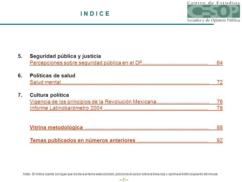 --46-- Desde que Vicente Fox es Presidente, ¿usted cree que la relación de México con Estados Unidos...
