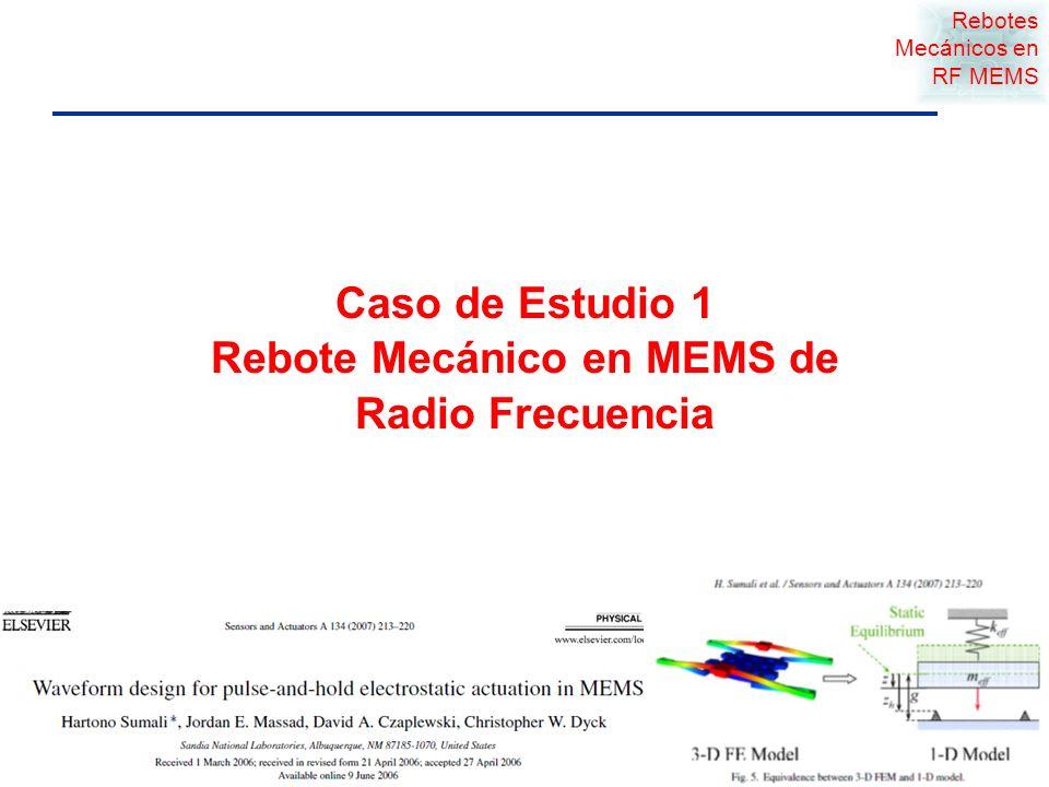 MEMS Examples Page 9 © 2009 Sandia National Laboratories Repuestas al Choque y Vibraciones son importantes en MEMS Pruebas de Funcionamiento Eléctricas Mecánicas Ópticas Etc Estática Dinámica Esfuerzos Deflexiones Fracturas Etc.