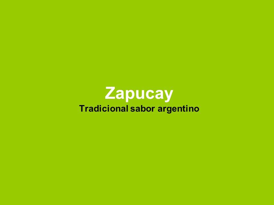 Zapucay Tradicional sabor argentino