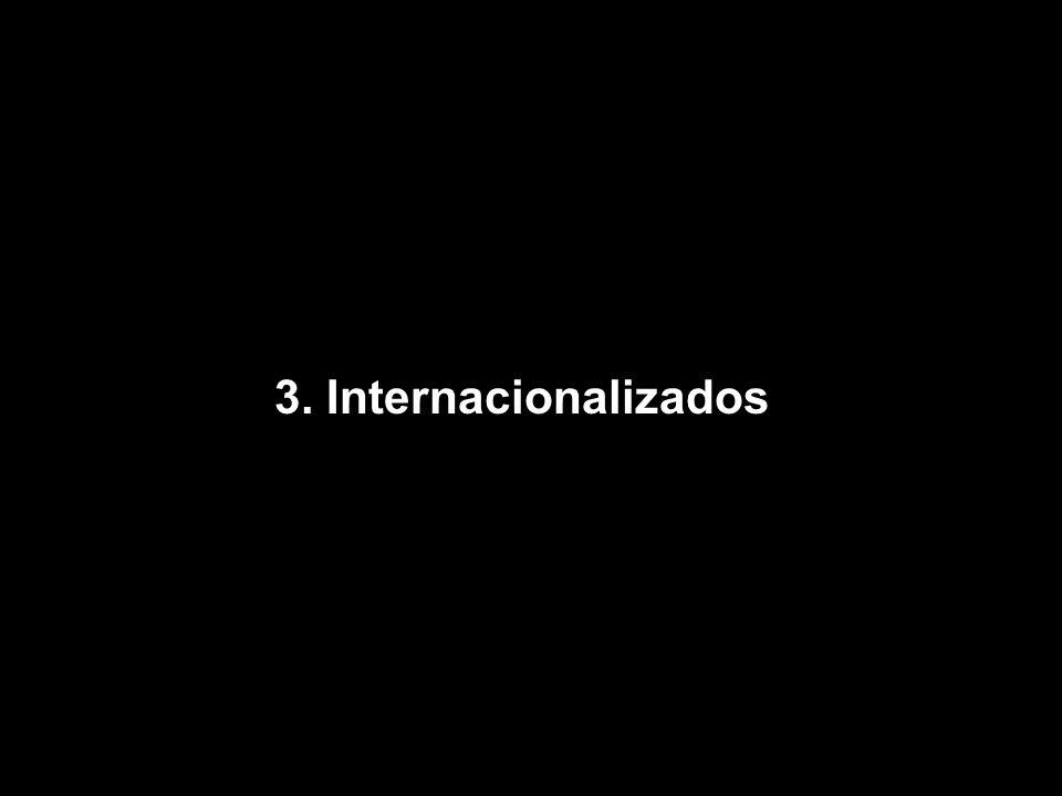 3. Internacionalizados