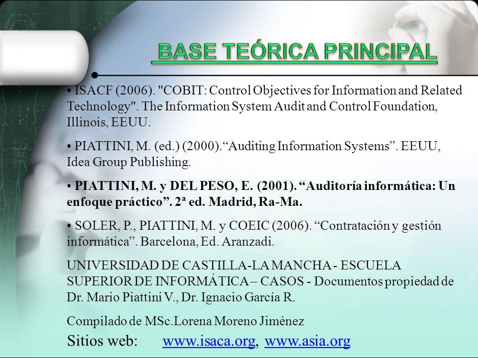 ISACF (2006).