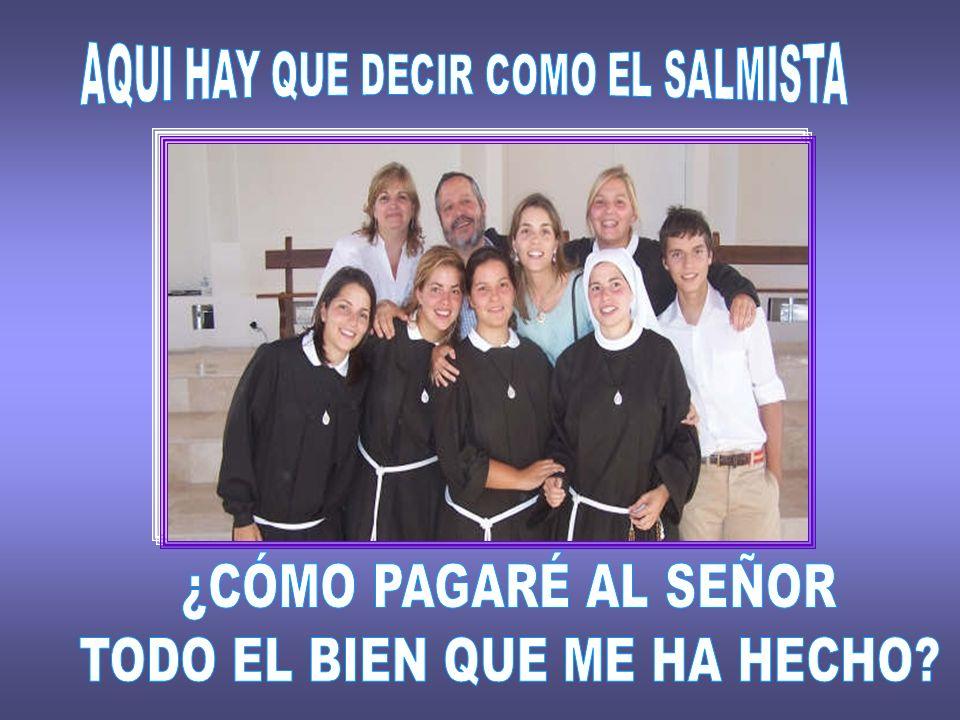 Jano e Inma son un matrimonio del Camino Neocatecumenal. Son padres de 7 hijos, 6 chicas y 1 chico. En la reciente fiesta del Corpus Christi, contaron