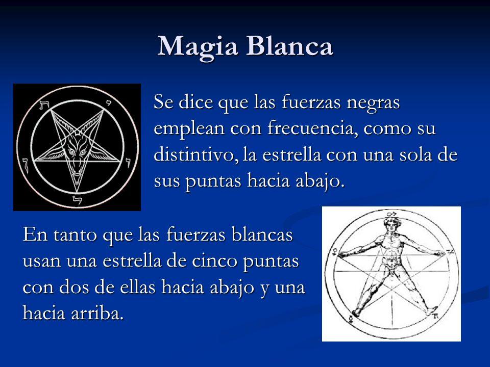 Se dice que las fuerzas negras emplean con frecuencia, como su distintivo, la estrella con una sola de sus puntas hacia abajo. En tanto que las fuerza
