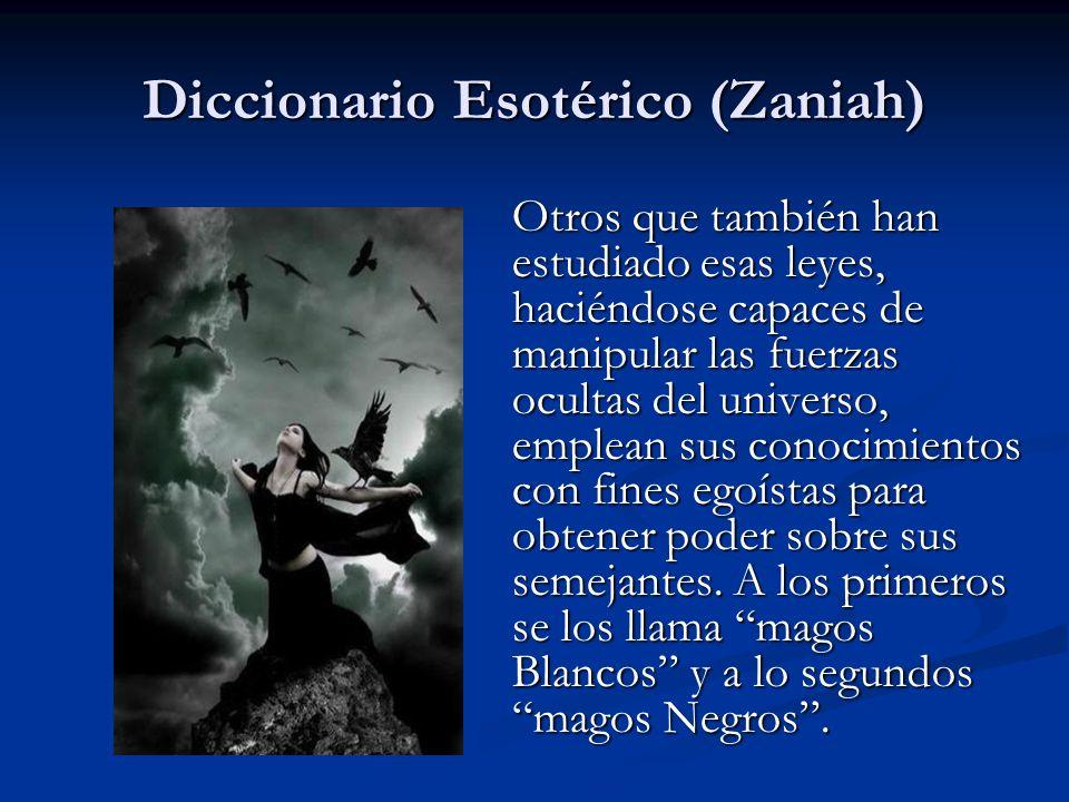 Los magos negros son saqueadores que actúan bajo el odio y la maldad.