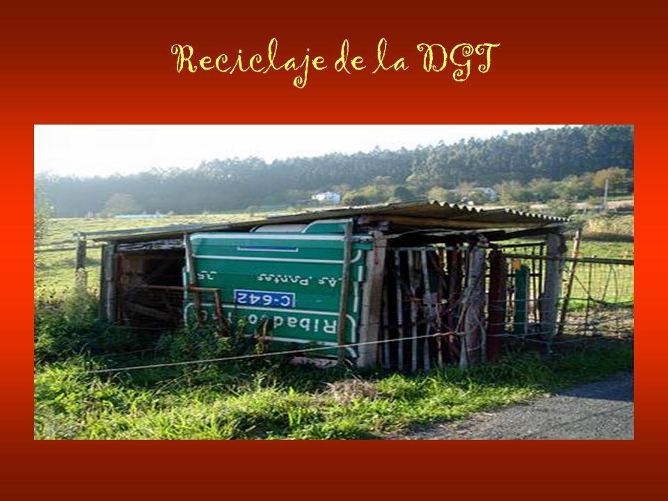 Reciclaje de la DGT