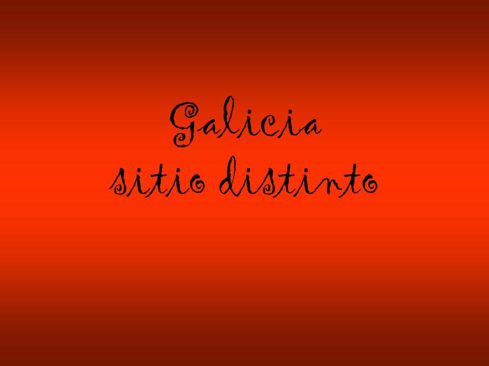 Galicia sitio distinto