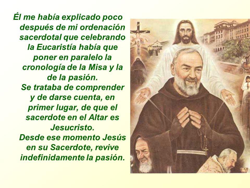 La Misa explicada por San Pio de Pietrelcina (Testimonio del P.
