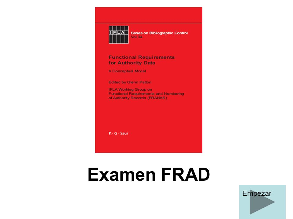 Examen FRAD Empezar