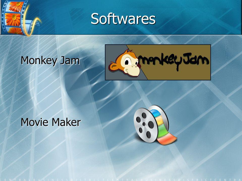 Softwares Monkey Jam Movie Maker